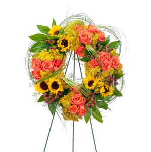 Heavens Sunset Wreath
