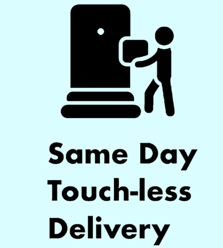 Same Day Touch-Less Delivery